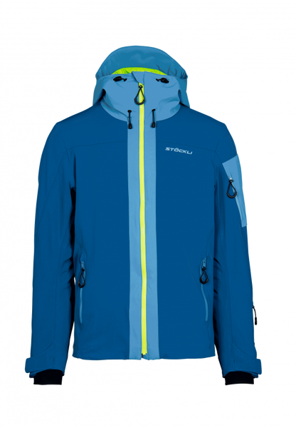 Skijacket Sport Padded Men darksteel-lightsteel